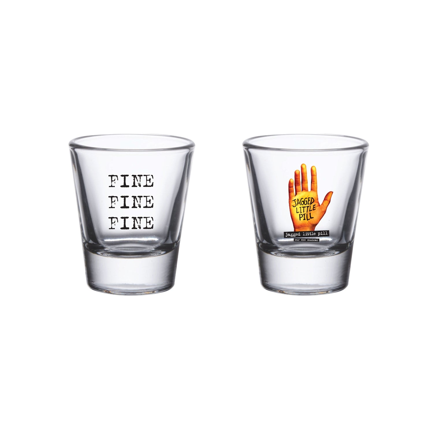 JAGGED LITTLE PILL Shot Glass Image