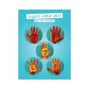 JAGGED LITTLE PILL Button Set
