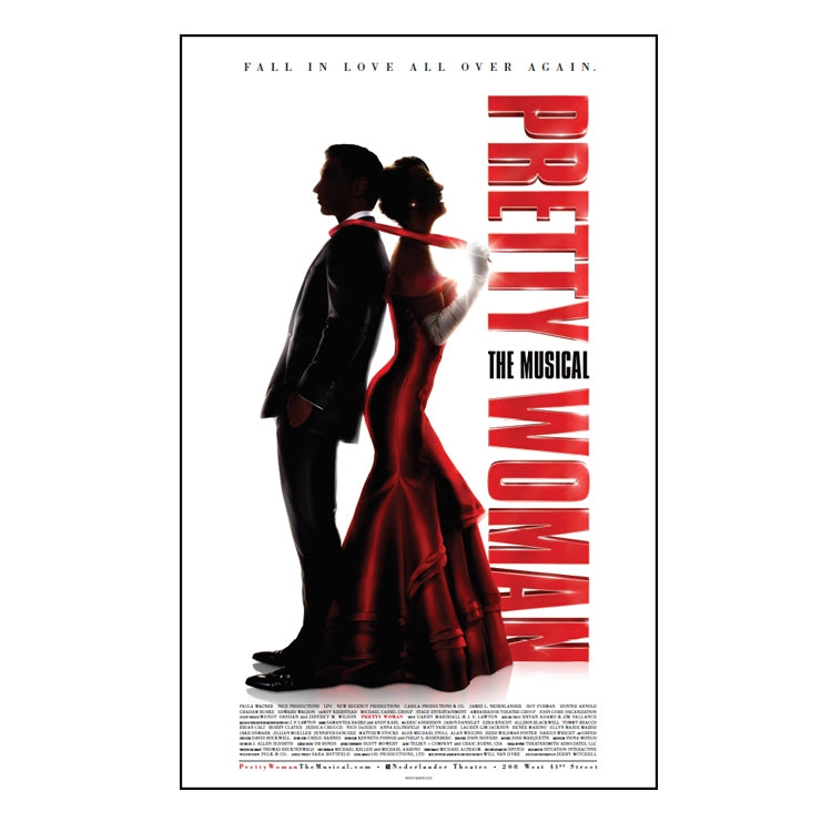 PRETTY WOMAN Windowcard