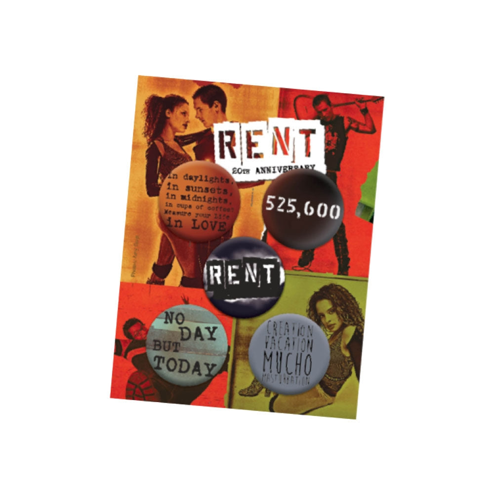 RENT Button Set