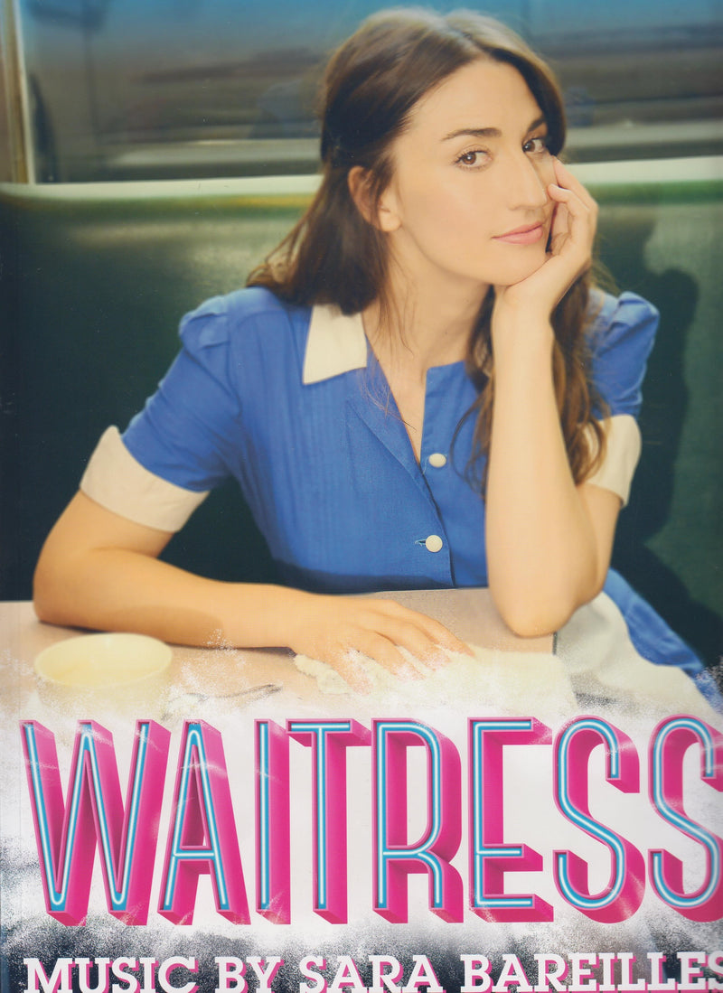 WAITRESS Souvenir Program Book