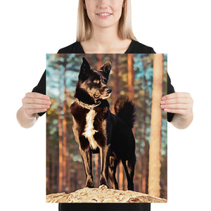 Personalized Pet Poster