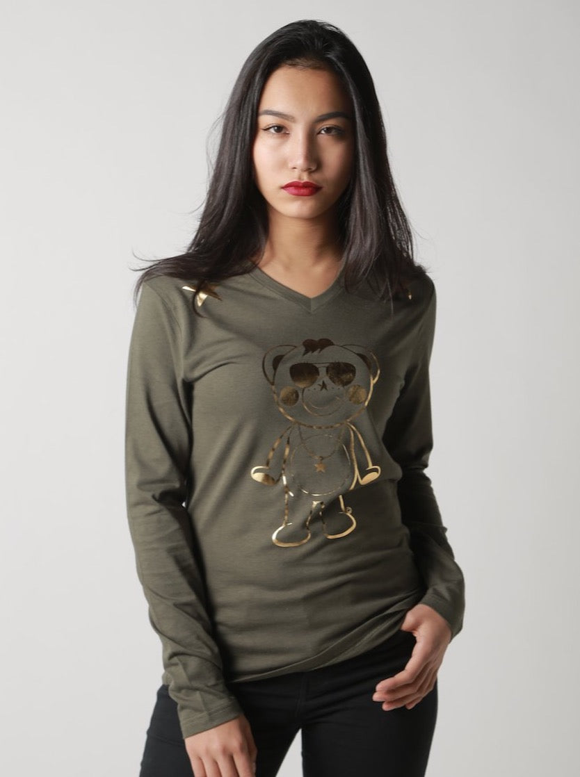 Gold Outline  Chappy Long-T [mens]