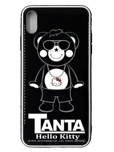"RAPPER Chappy with ""Hello Kitty® Pendant"" iPhone Glass Case"