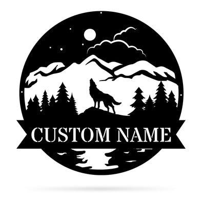 Full Moon Monogram - Custom