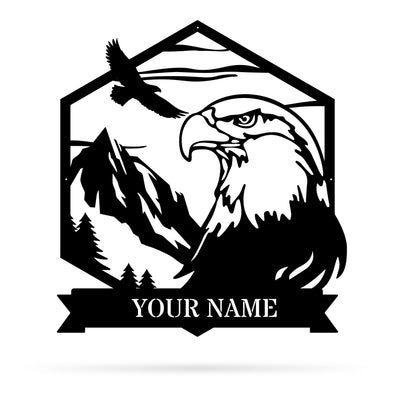 Majestic Eagle Monogram - Custom