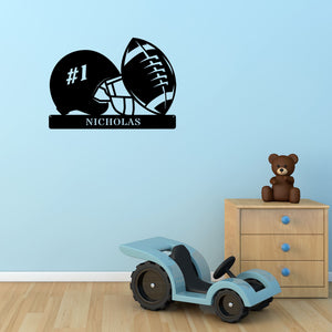 Football Monogram - Custom