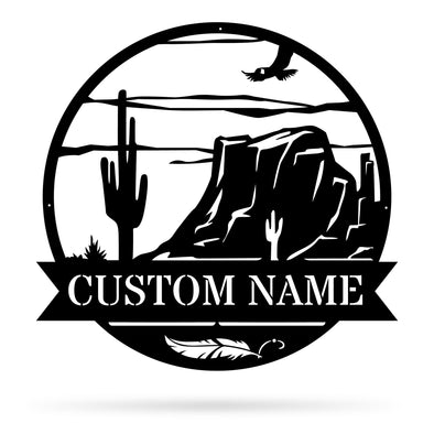 Canyon Monogram - Custom