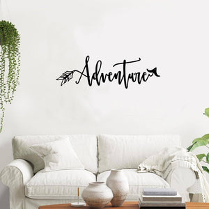 Adventure Arrow - Metal Decor
