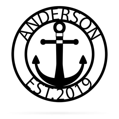 Anchor Monogram - Custom