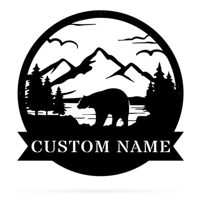 Bear Monogram - Custom
