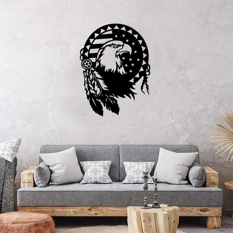 Eagle Pride - Metal Decor