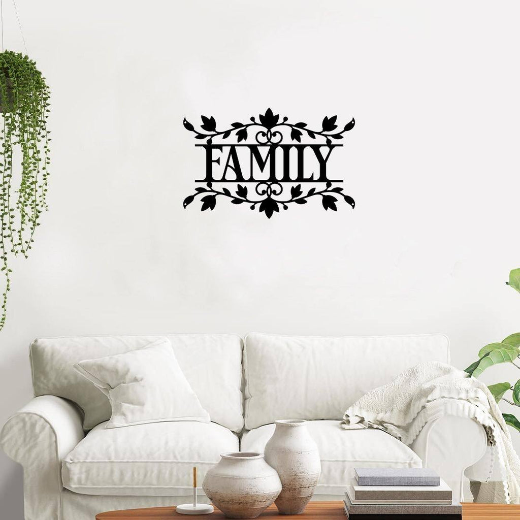 Family Vine - Metal Decor