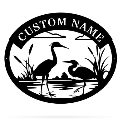 Heron Monogram - Custom