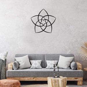 Star Flower - Metal Decor