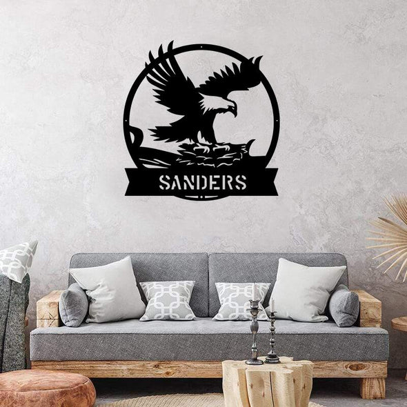 Soaring Eagle Monogram - Custom