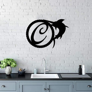 Swordfish Single Letter - Custom