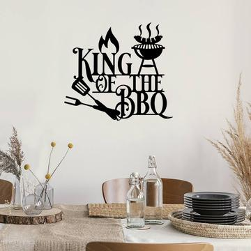 BBQ King - Metal Decor