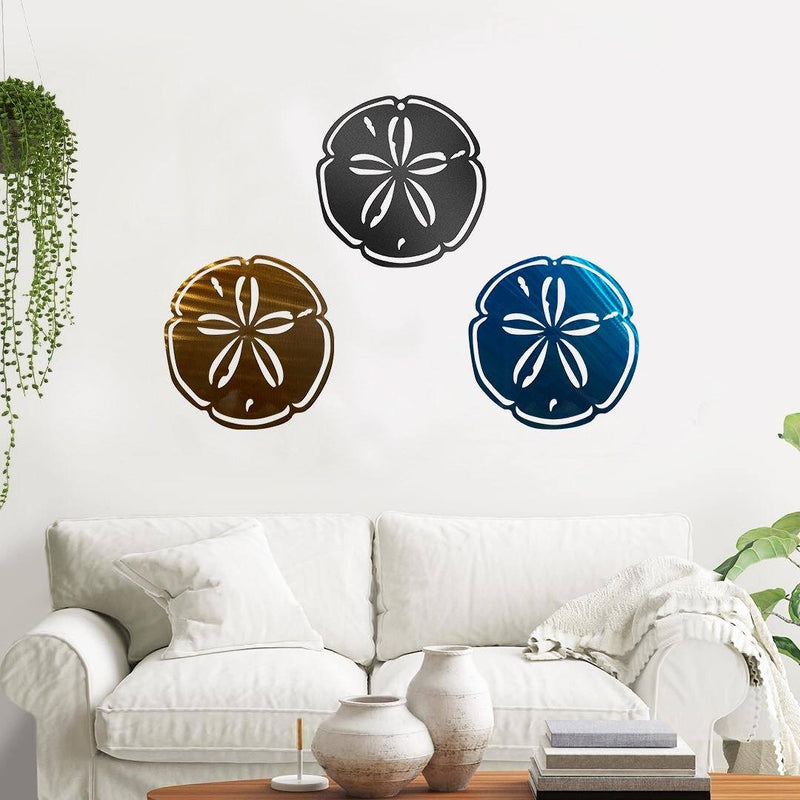 Sand Dollar - Metal Decor
