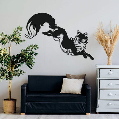 Leaping Fox - Wall Decor