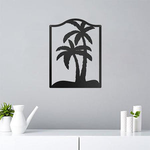 Palm Trees - Metal Decor