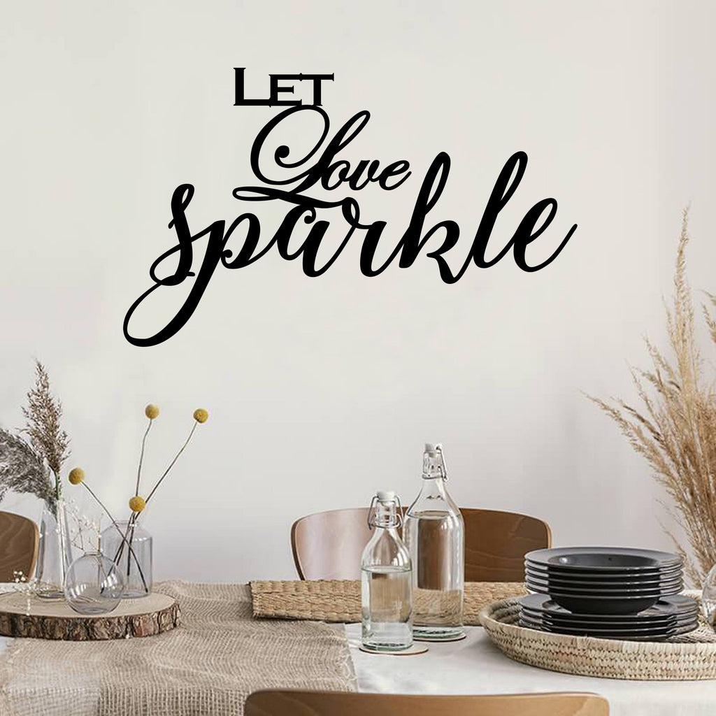 Love Quote - Metal Decor