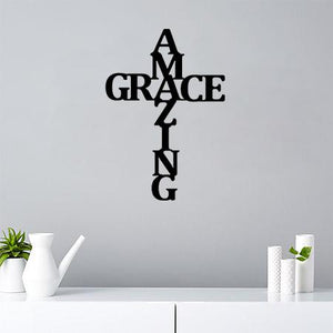 Amazing Grace - Metal Decor