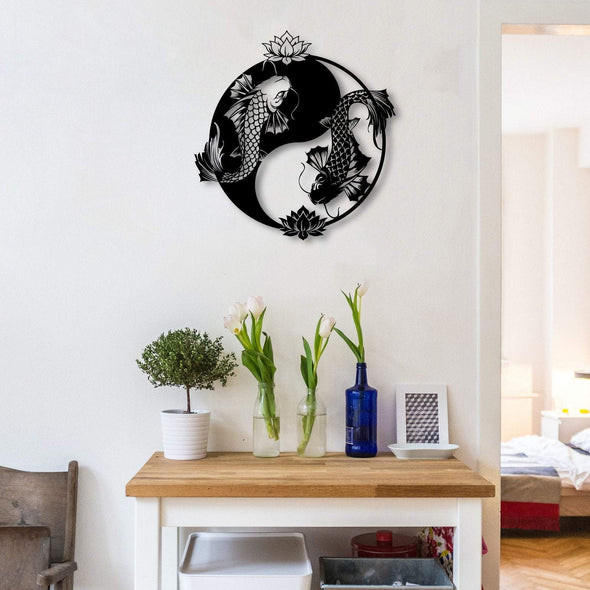 Yin Yang (Koi Fish) - Wall Decor