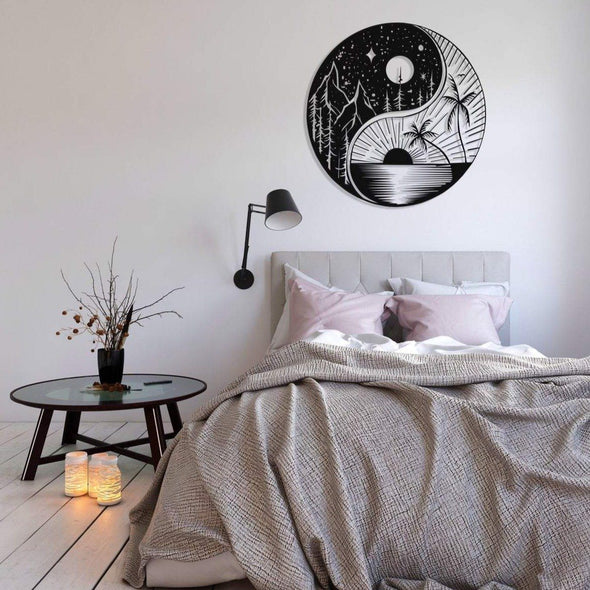 Yin Yang (Sun & Moon) - Wall Decor