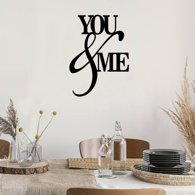 You & Me - Steel Decor