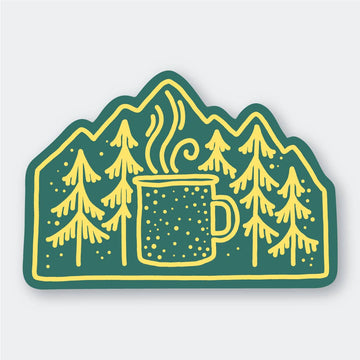 Camp Coffee Sticker