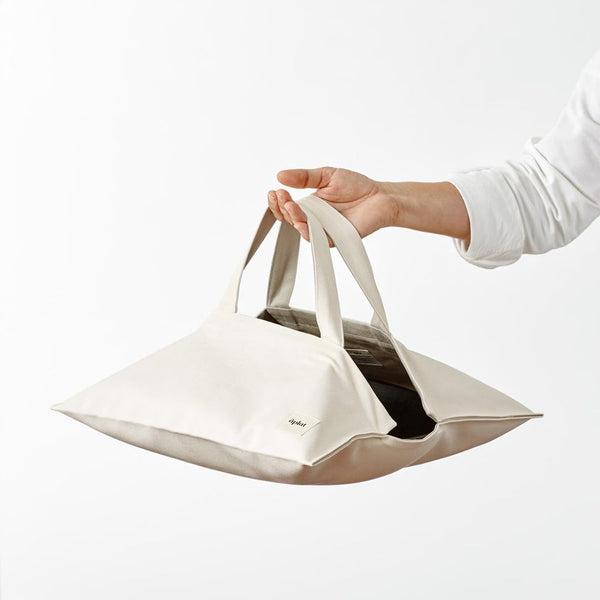 Plat Wide Culinary Tote in Stone