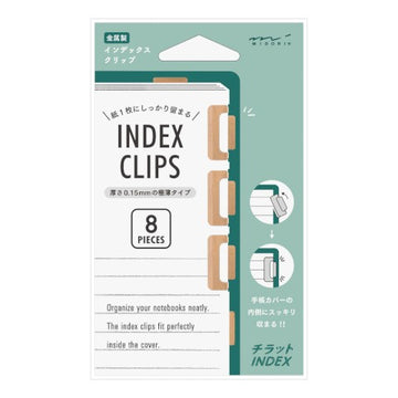 Index Clip Chiratto - Orange
