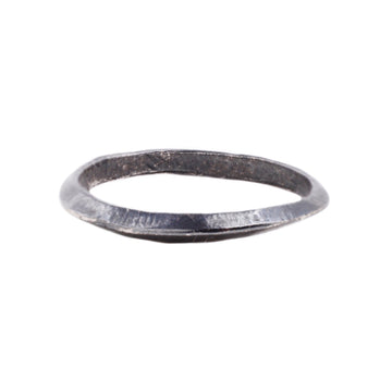Axis Ring : Oxidized Silver