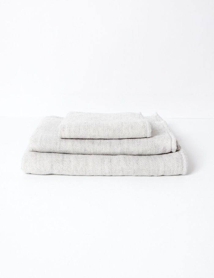 Claire Towel, Silver Grey