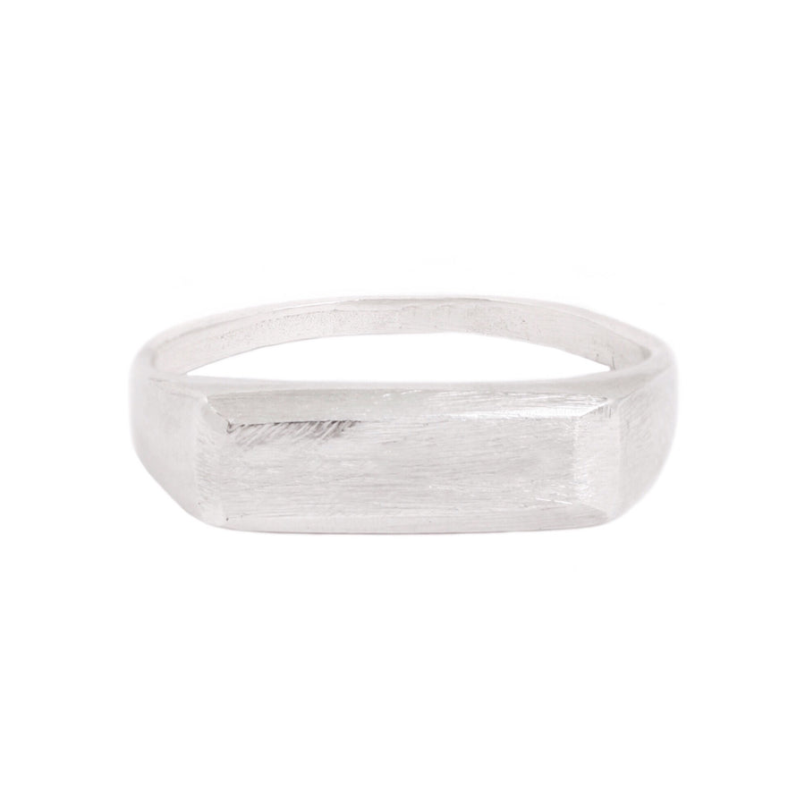 Signet Ring : Silver