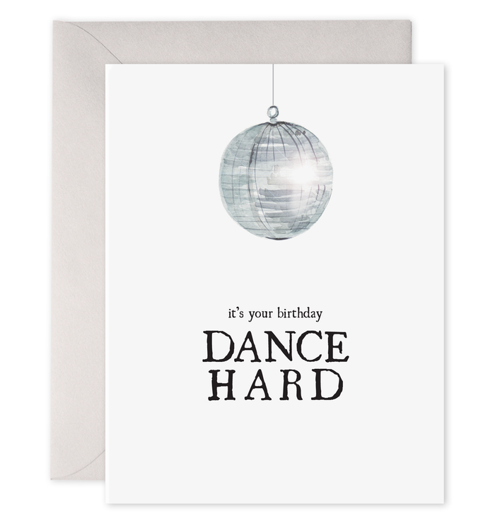 Disco Ball Card