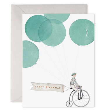 Penny Farthing Card