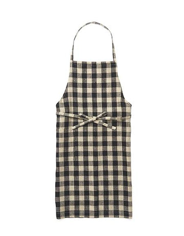 Everyday Apron in Black Checker