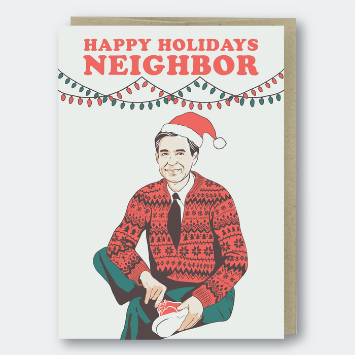Happy Holidays Neighbor Greeting Card