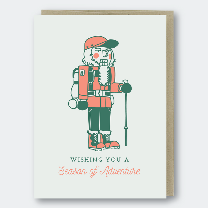 Adventure Nutcracker Greeting Card