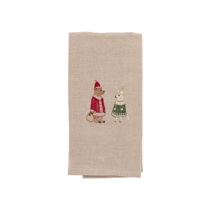 Claus Crew Tea Towel