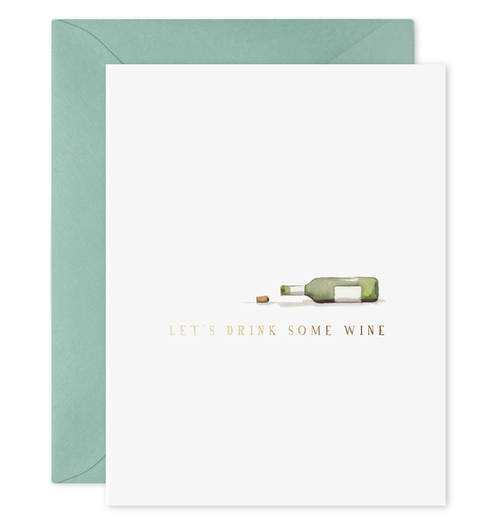 Drink Wine Card