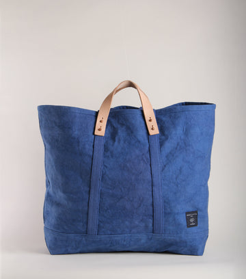 Large East West Canvas Tote : OCEAN