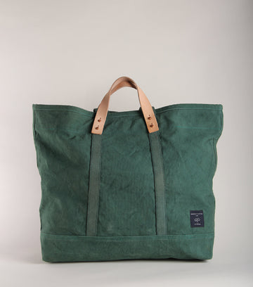 Large East West Canvas Tote : PINE