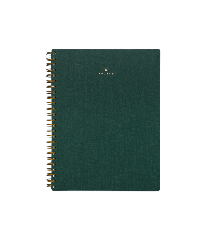 Workbook, Hunter Green