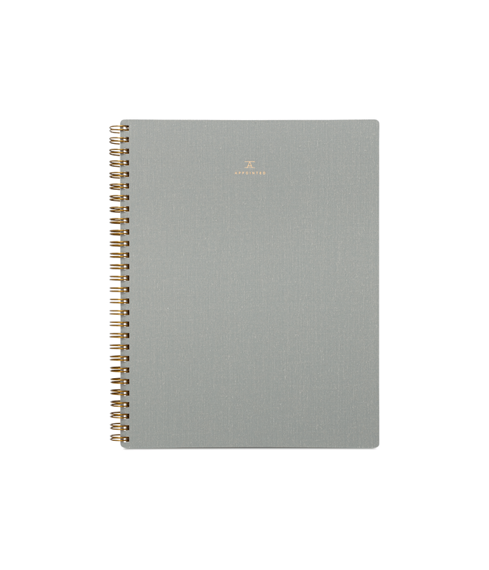 Dot Grid Workbook, Dove Grey