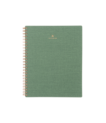 Dot Grid Workbook, Fern Green
