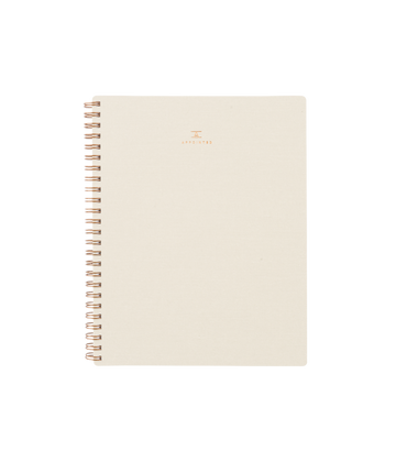 Workbook, Natural Linen