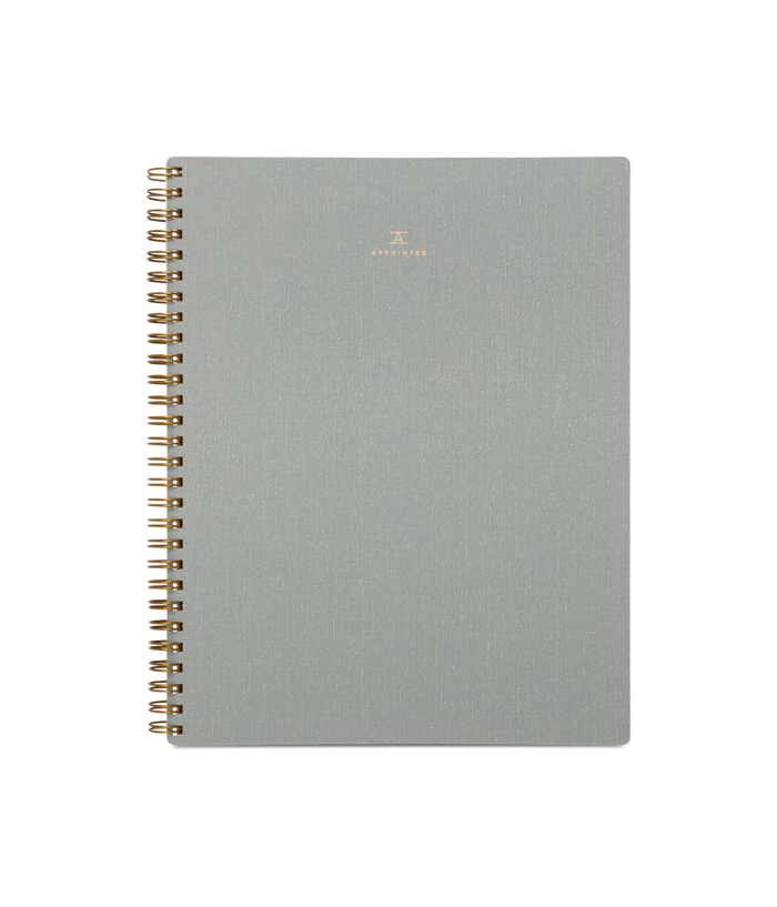 Notebook, Dove Gray